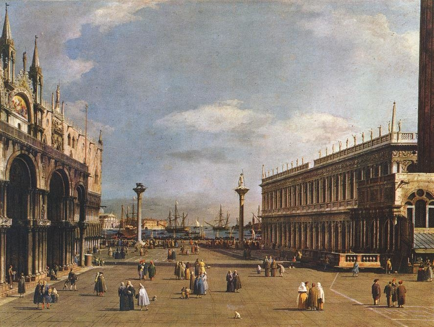 Venice: The Piazzeta and San Marco Library