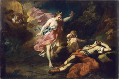 Venus Crying over the Death of Adonis