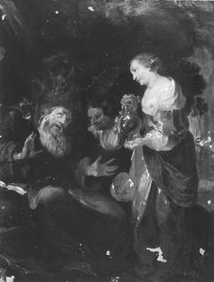 Versuchung des hl. Antonius (Werkstattkopie)