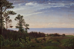 View from the North Coast of Zealand across the Kattegat with Kullen in the Background