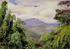 View of the Piedade Mountains from Congo, Brazil