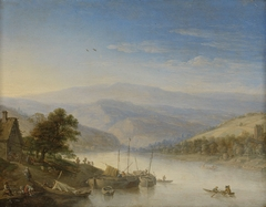 View of the Rhine River near Andernach