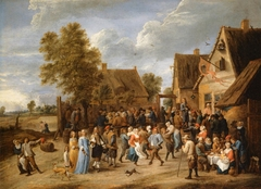 Village Feast with an Elegant Couple