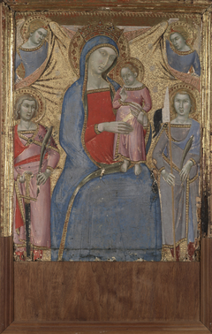 Virgin and Child withSaint