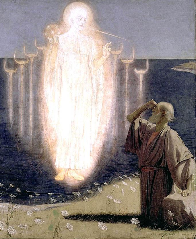 Vision de Saint Jean a Patmos