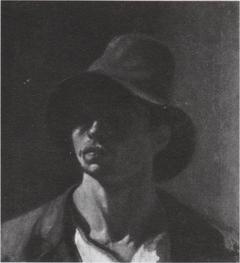 Werkershoofd (zelfportret)