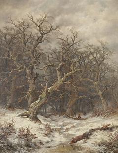 Winterlandschaft (Winterwald)