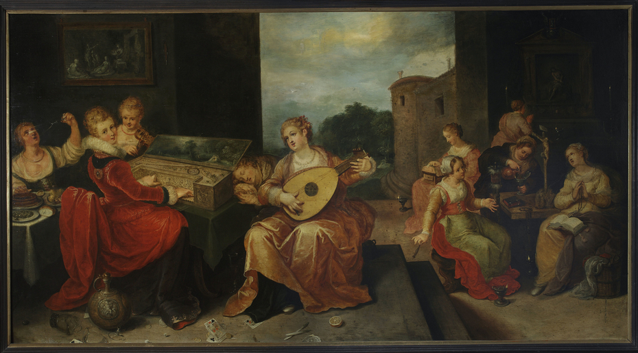 Wise virgins and foolish virgins (Matthew 25:1-13)