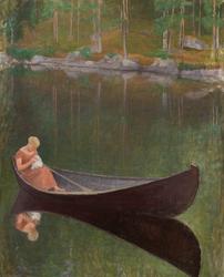 Woman in a Boat