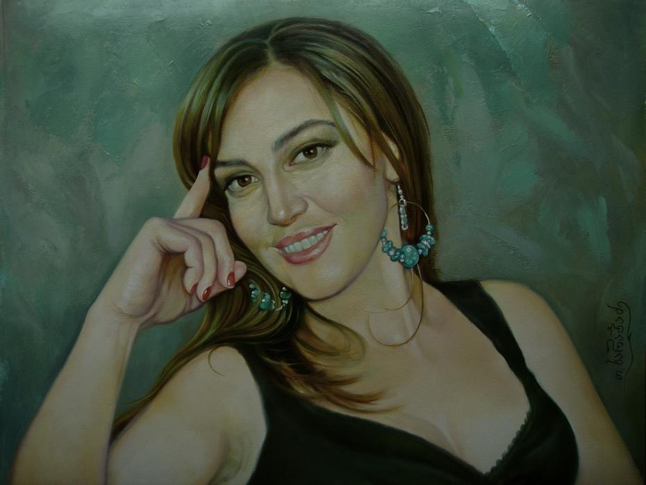 Woman portret.