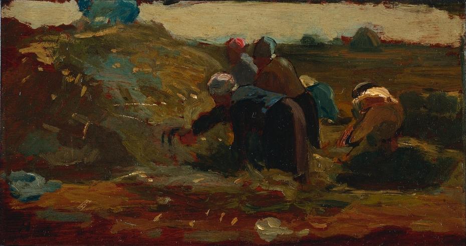 Women Working in a Field