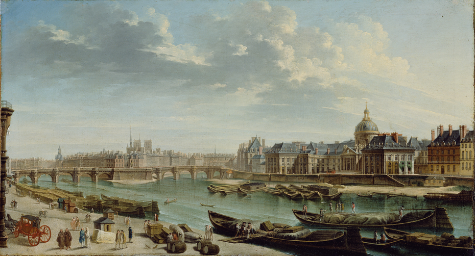 A View of Paris with the Ile de la Cité