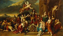 Allegorie auf Kaiser Leopold I. (1640-1705)