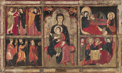 Altar frontal from Avià