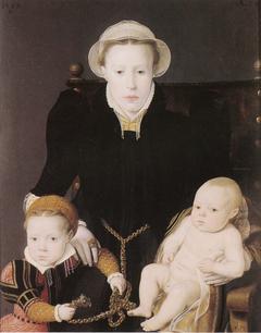 Anna van Hertsbeke and her Daughter Catharina and Son Jan Baptiste