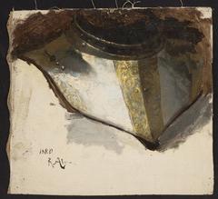 Armour bevor of Late Renaissance, study