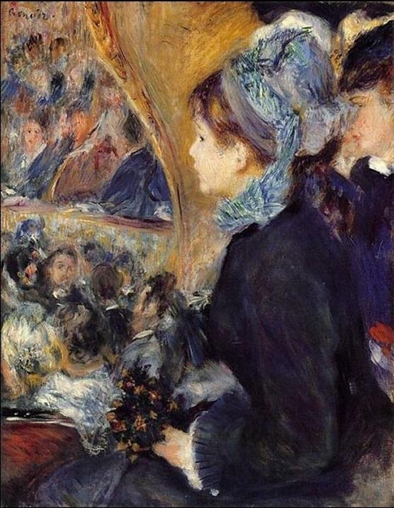 At the Theatre (La Première Sortie)