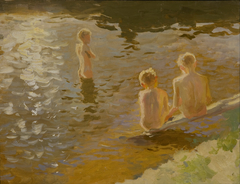 Bathing Boys