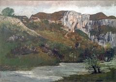 Beaux-Arts de Carcassonne - Les rochers d'Ornans ou Les rochers de Mouthier - Gustave Courbet