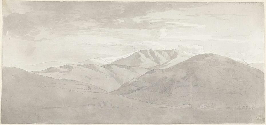Berglandschap in Italië