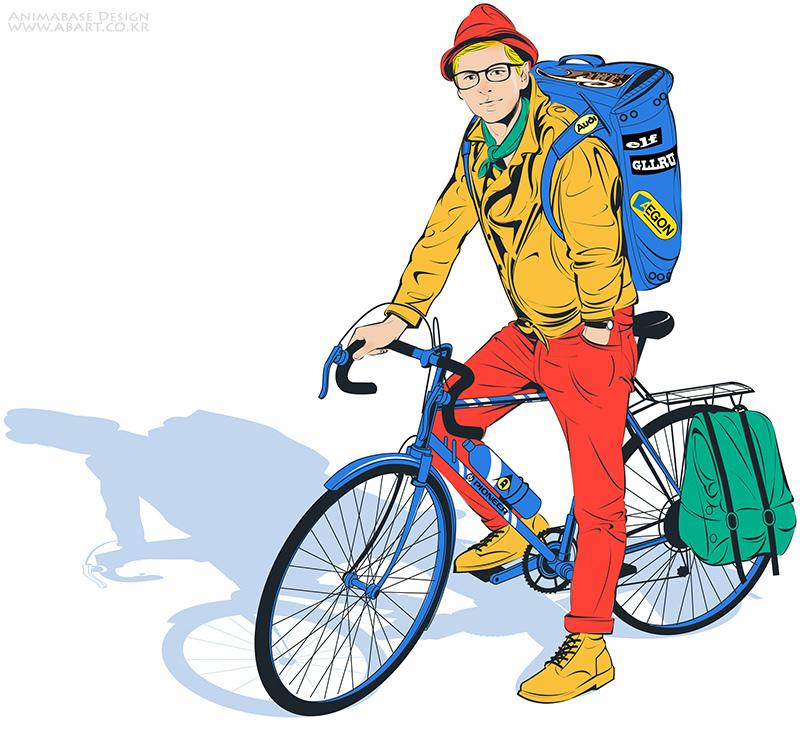 Bike Man