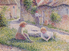 Children on a Farm