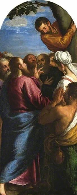 Christ calling Zacchaeus