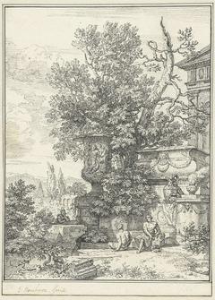 Classicistisch landschap