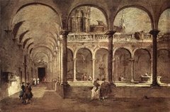Cloister in Venice