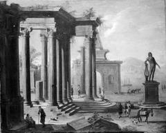 Colonade in Ruins