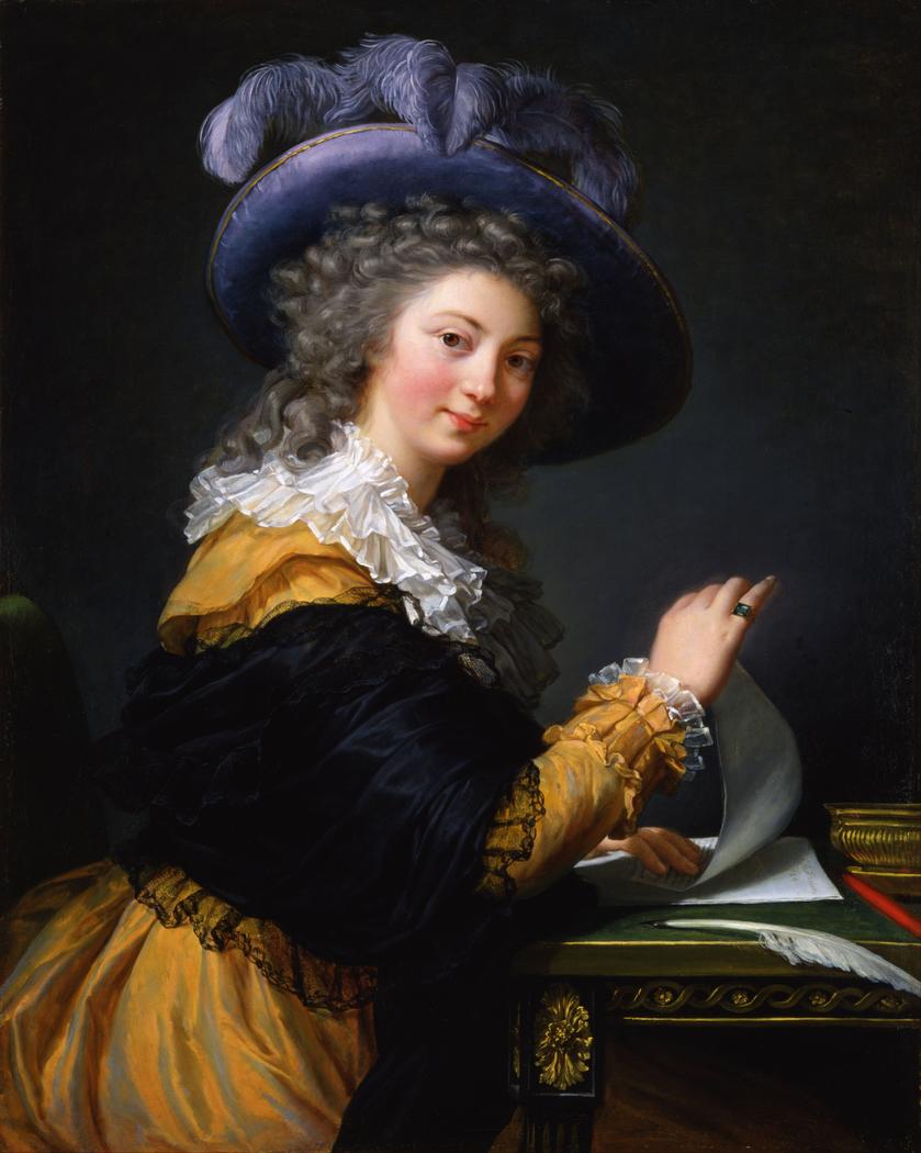 Comtesse de Cérès Former title (from 1963 to 1992)- Lady Folding a Letter
