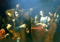 Concert à sept personnages et un buveur