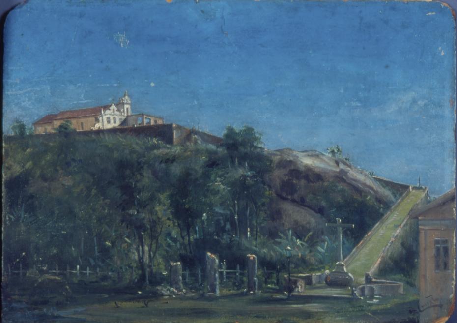 Convento de Itanhaém, 1884