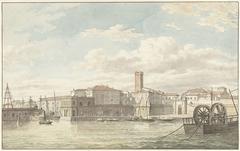 De haven van Civitavecchia