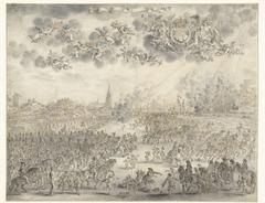 Departure of Charles II from Scheveningen