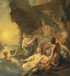 Diana's Bathing