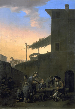 Drinkers before an Inn