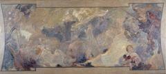 Esquisse pour le Petit Palais, galerie sud : La musique fantastique