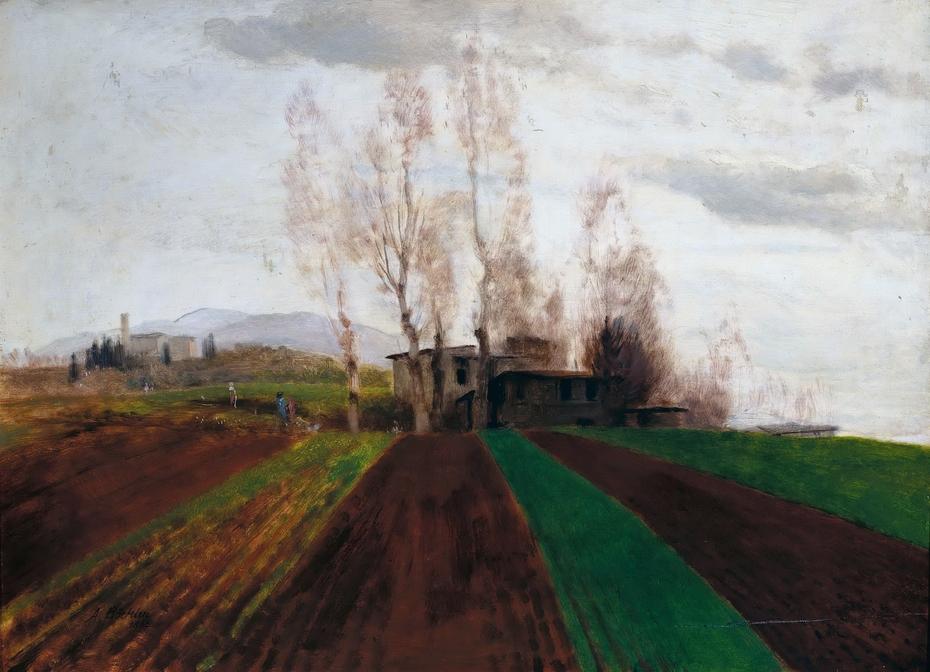 Farmland in Early Spring /