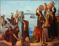 Femmes au bord du Nil