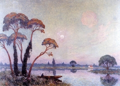 Fishermen by the Banks of the Loire