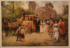 General Washington at Christ Church, Easter Sunday, 1795