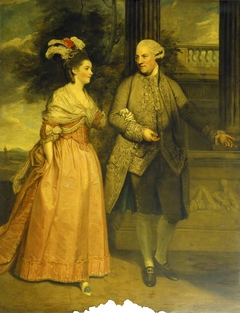 Henry Loftus, 1st Earl of Ely (1709-1783) and his wife Frances Monroe, Countess of Ely (d.1821)