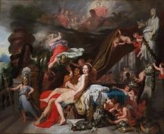 Hermes Ordering Calypso to Release Odysseus