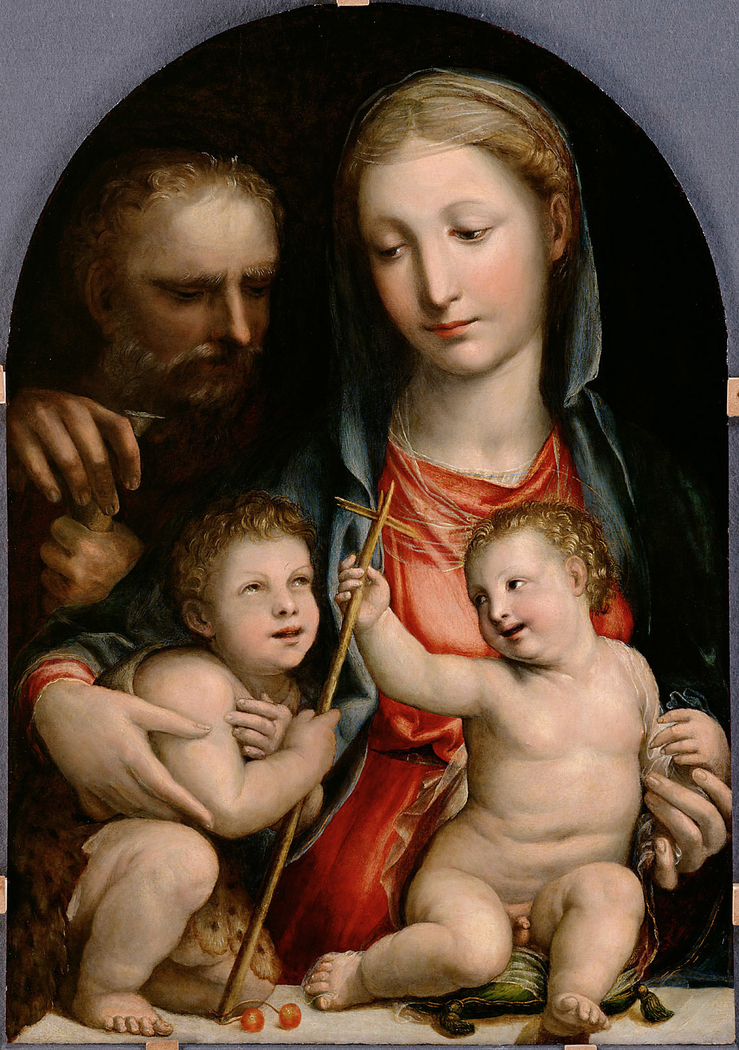 Holy Family with St. John the Baptist as child