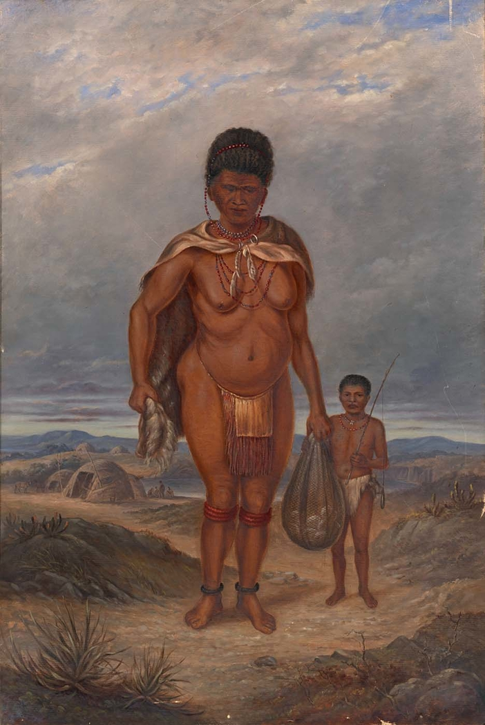 Hottentot Woman and Children
