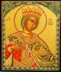 Icons: St. Catherine