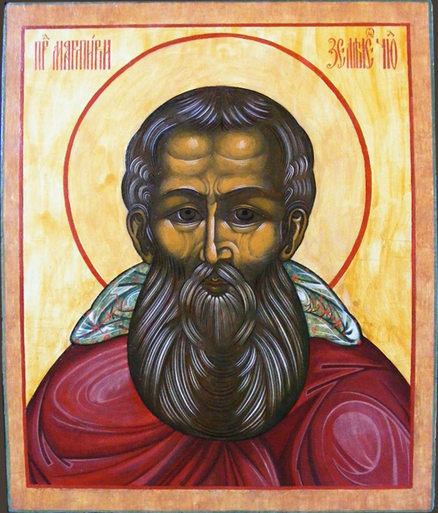 Image of the Monk Martyr Zelenetsky