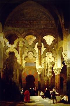 Interior of the Mosque, Córdoba