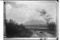 Italian landscape with a Herd